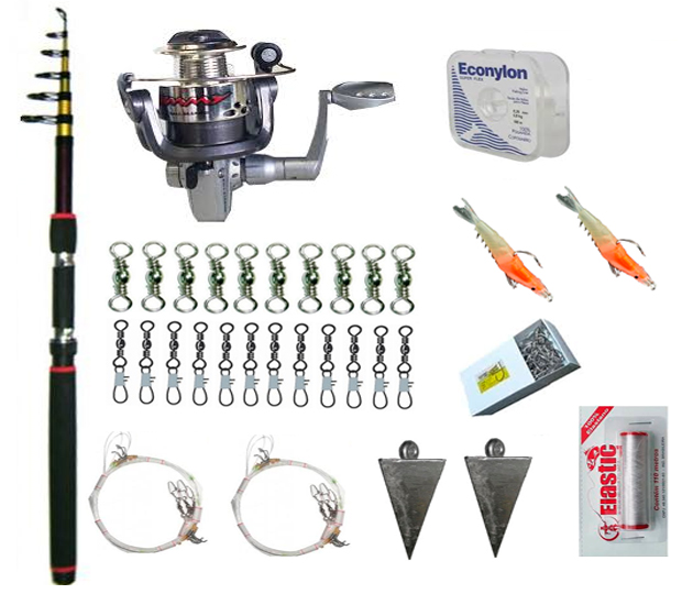 kit-ultralight-45 Pesca Praia Ultralight