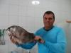 Pescador e seu troféu !