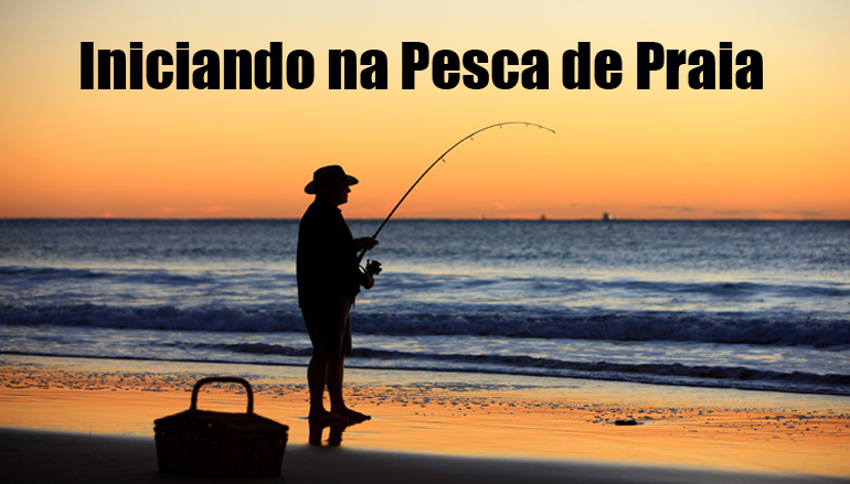 iniciando-pesca-praia Tralha para pesca de praia