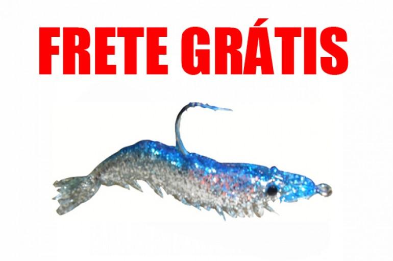 Camarão Hunter 9,5 cm Azul