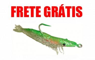Camarão Hunter 9,5 cm Verde