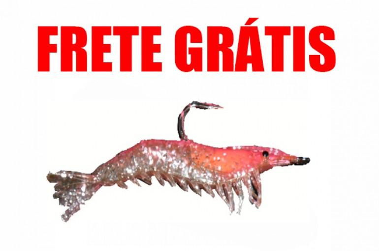 Camarão Hunter 9,5 cm Vermelho