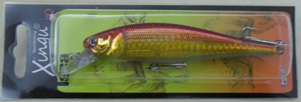 iscas-002 Isca Max 11 cm dourada