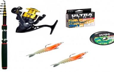 Kit para Pesca de Praia
