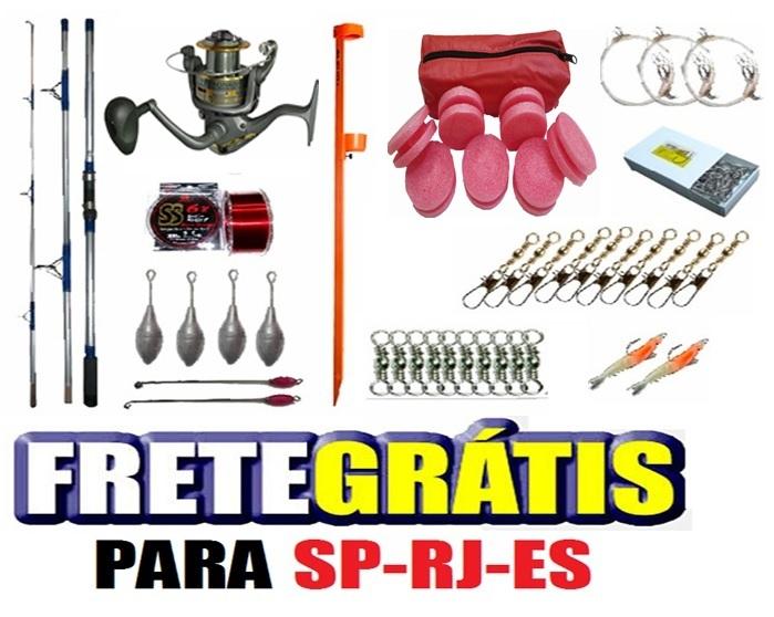 platinum-1 Conjunto Pesca completo