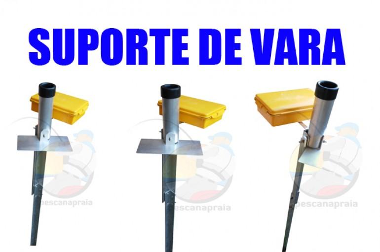 Suporte vara c/ caixa vedada e mesa de iscas