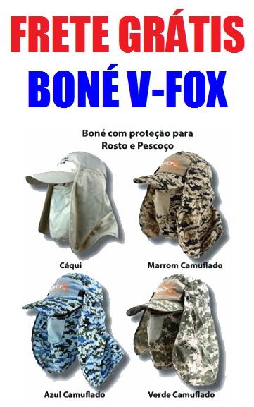 BONE-VFOX-PROTETOR Boné V FOX Proteção Total