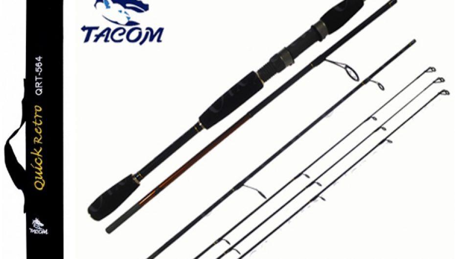 Vara Tacom Quick Retro 1.83 m Carbono
