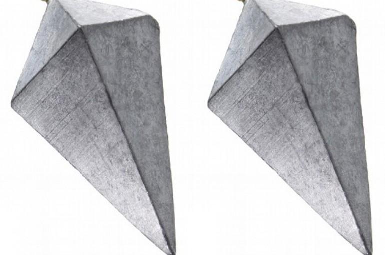 Chumbada Pirâmide Dupla 75 gramas