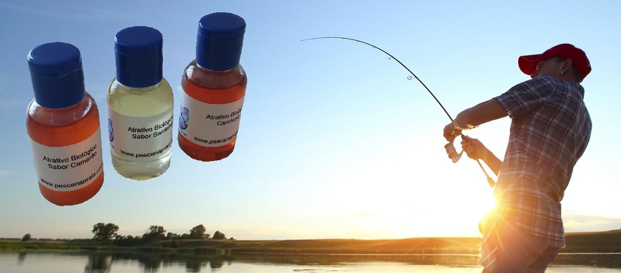 Atrativo Biológico para pesca