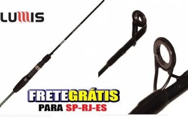 Vara Carretilha Lumis Mirage 1,37 m 2-6 lbs