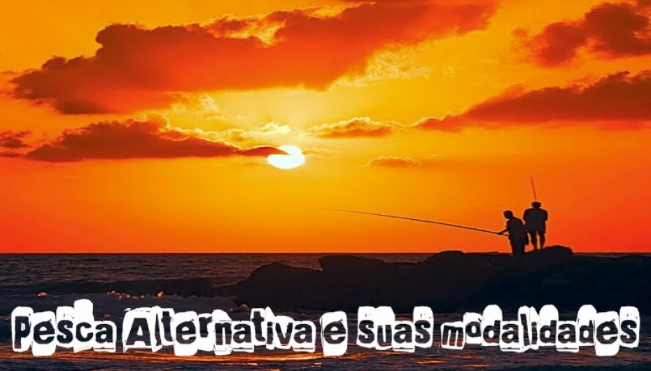 Pesca Alternativa descubra suas modalidades