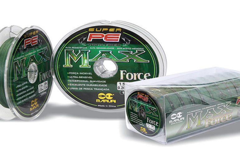 Linha Multifilamento Max Force