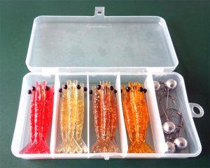 estojo-camarão-8-300x239 Kit Camarão 8 cm 18 peças