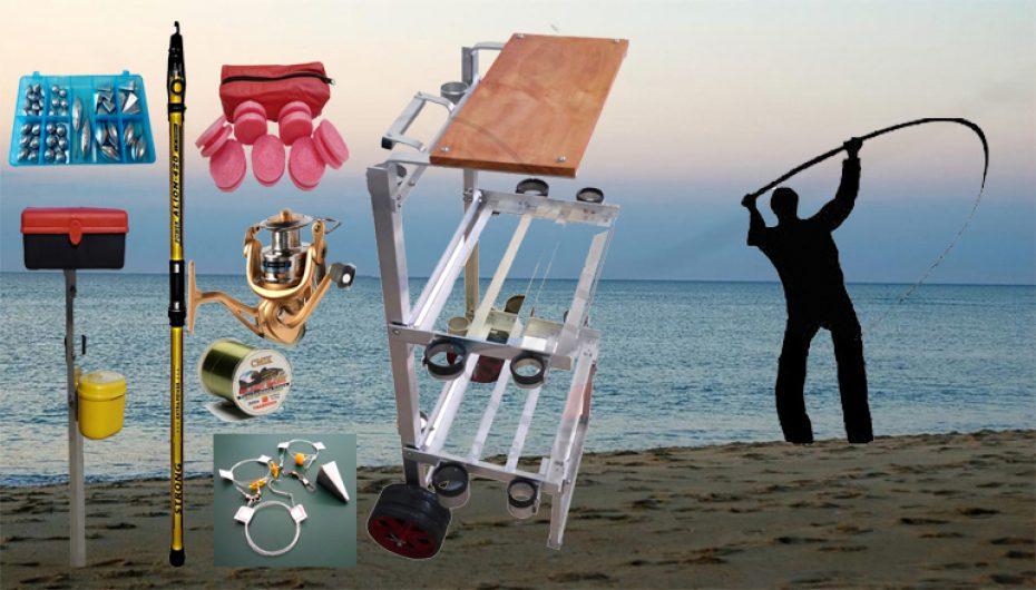 Kit Pesca Praia Top Linha