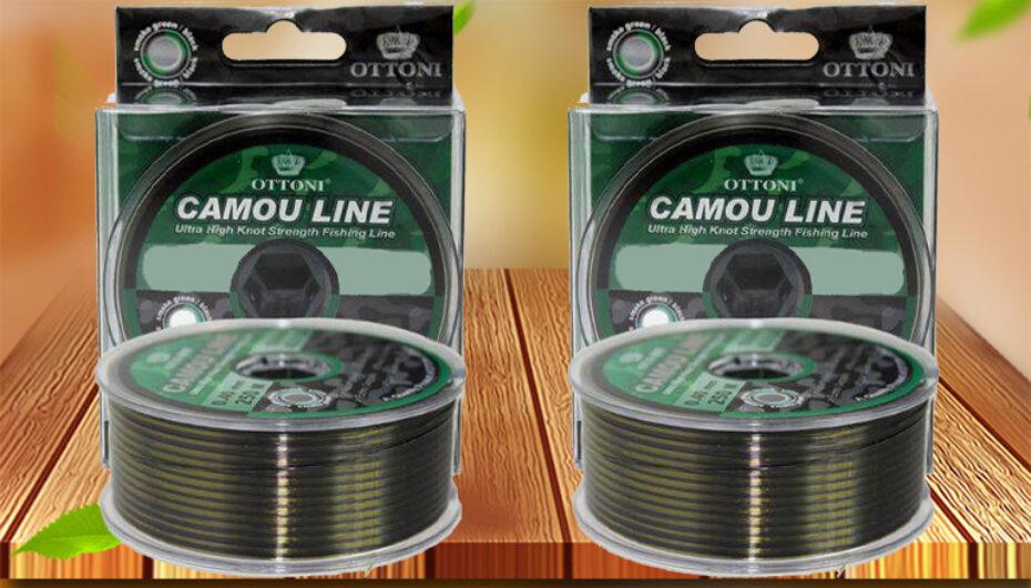 Linha Monofilamento Camouline 0,25 mm 300 metros