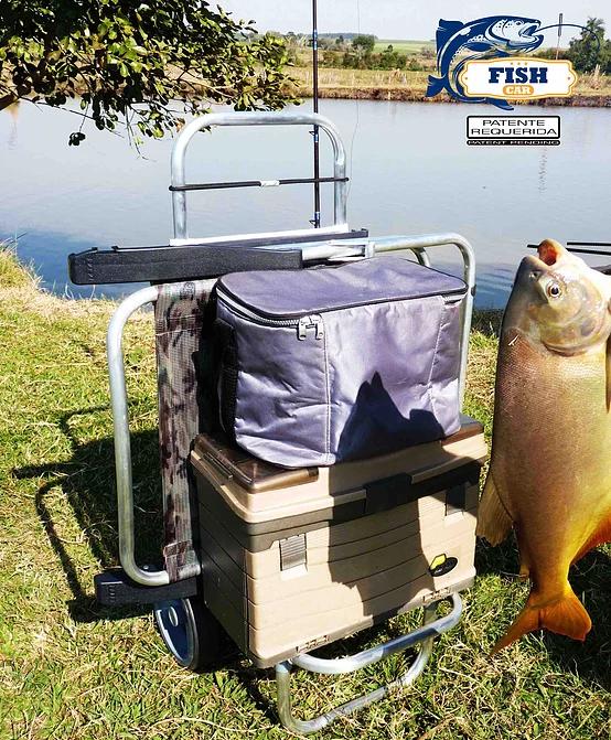 CARRINHO-ZAKA-2 Carrinho de Pesca Fish Car